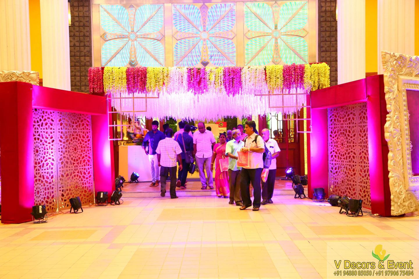 wedding decorations Sangamithra Convention Centre