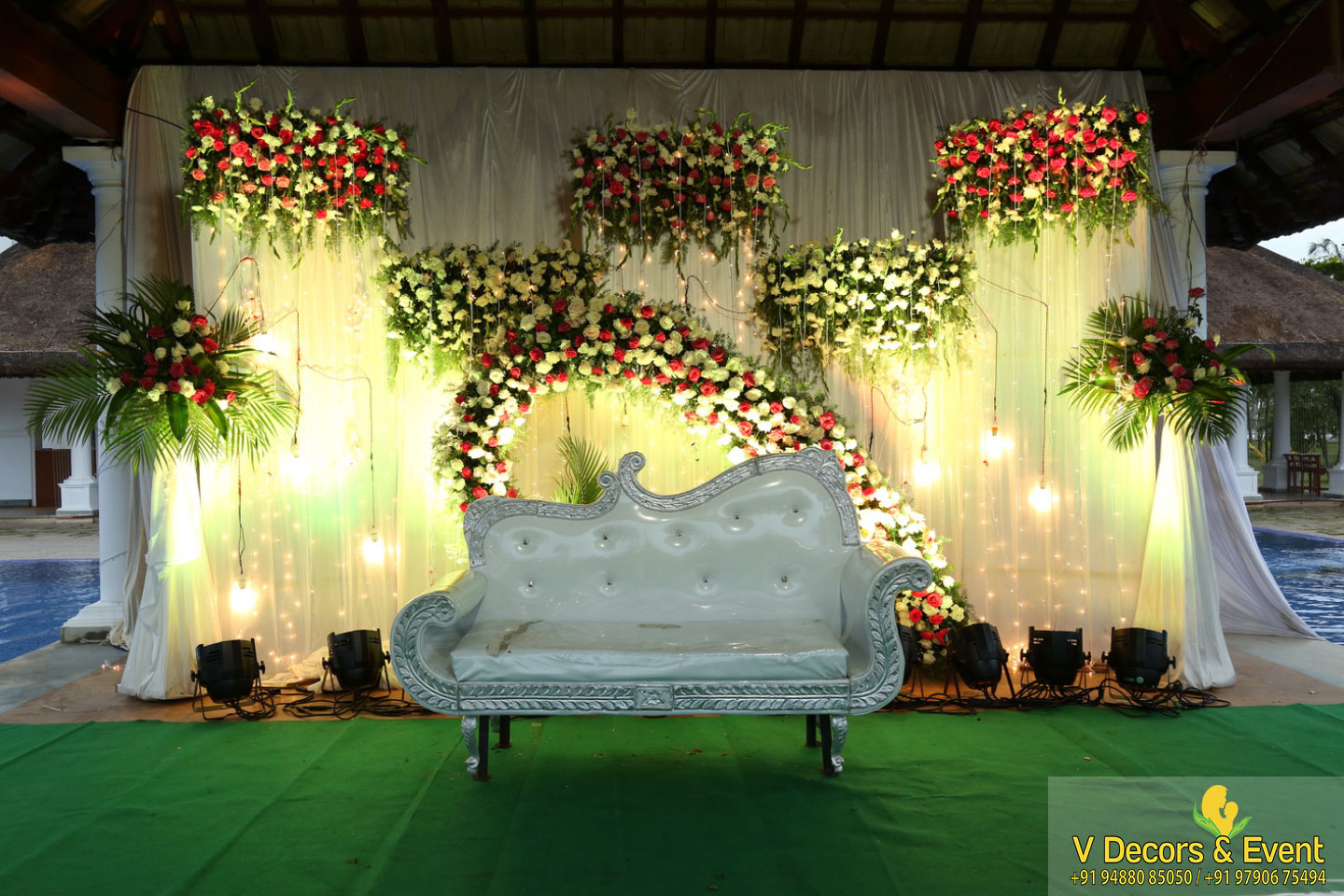 Betrothal decorations Le Pondy
