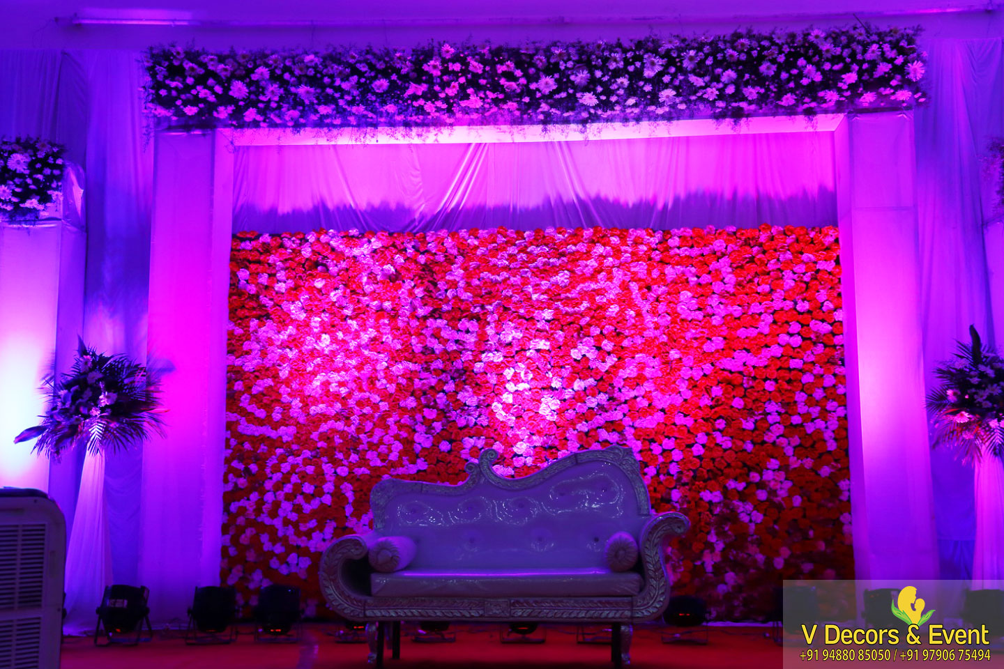 Reception Decoration Organize at Anthoniyar Mahal
