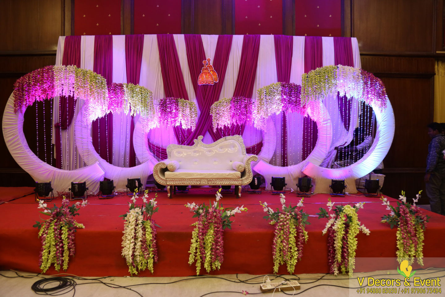 Ear Boring Ceremony Decorations at GRT Sunway Hotel