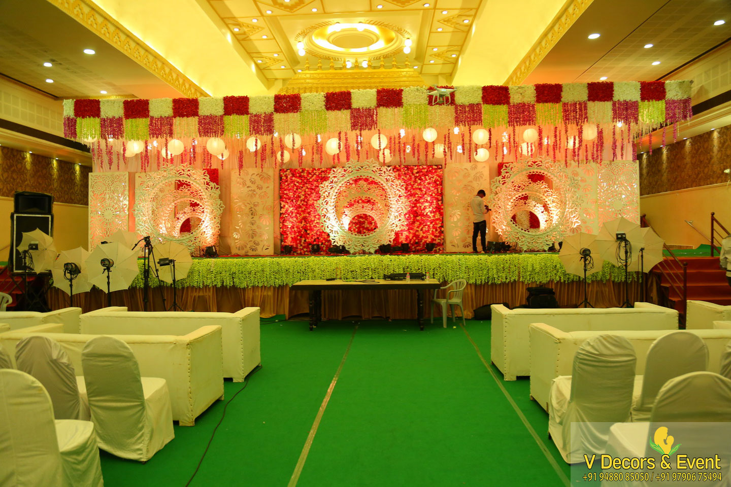 wedding decorations Jayaram Thirumana Nilayam