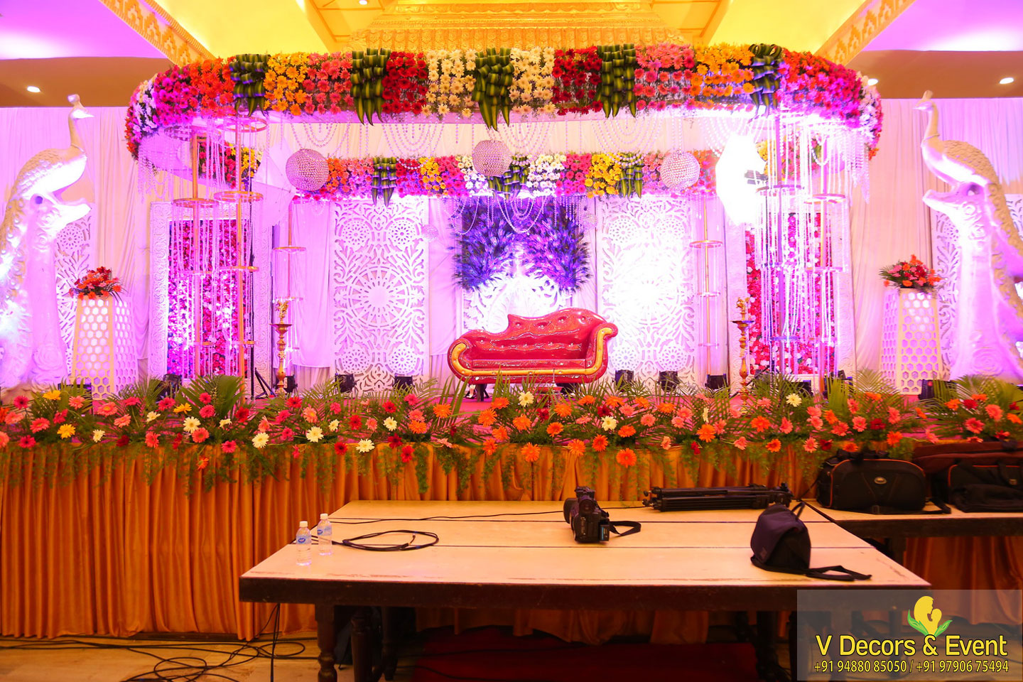 wedding decorations sangamithra