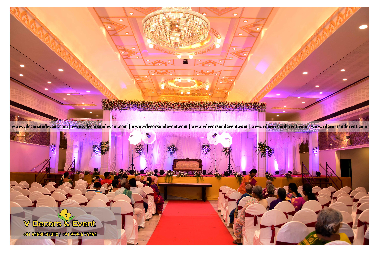 Latest decoration jayaram kalyana mandapamwedding reception wedding reception decoration organize at jayaram mandapam pondicherry junglespirit Images