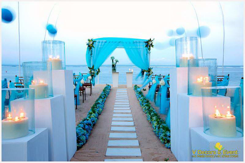 Beach wedding in pondicherry, Beach Wedding decorations pondicherry