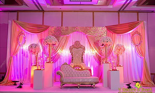 Wedding decorations v decors and events 9488085050 wedding ram silks reception decoration organize at sangamithra pondicherry ram silks reception and wedding decoration done at sangamithra pondicherry junglespirit Images