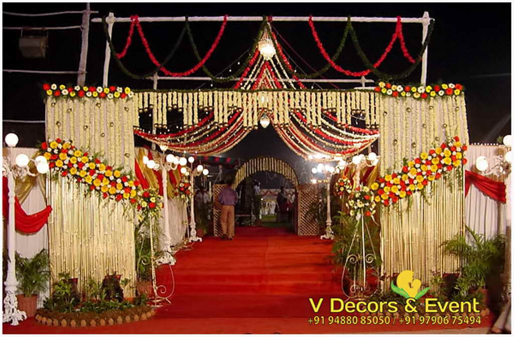 Traditional wedding decorations pondicherrytraditional wedding traditional wedding decorations junglespirit Gallery