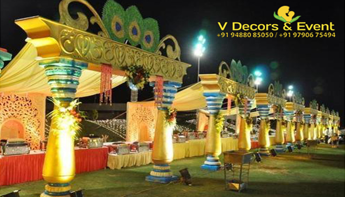 wedding stall vdecors and events