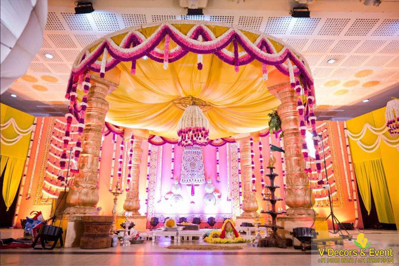 Cheap Wedding Decorations Pondicherry Rustic Wedding