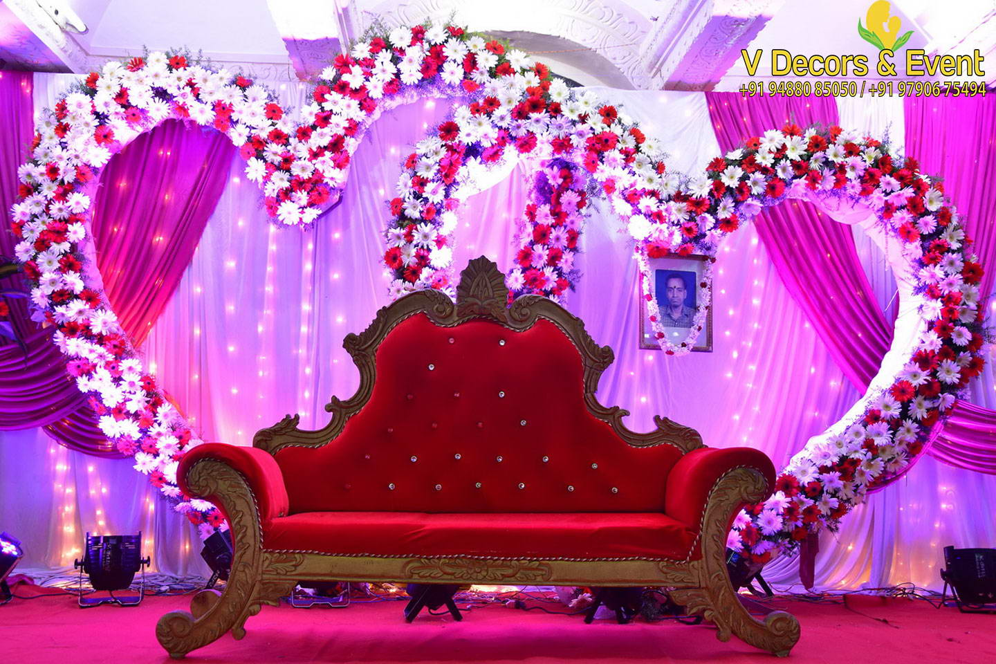 V Decors And Events Wedding Decorations Pondicherryevent