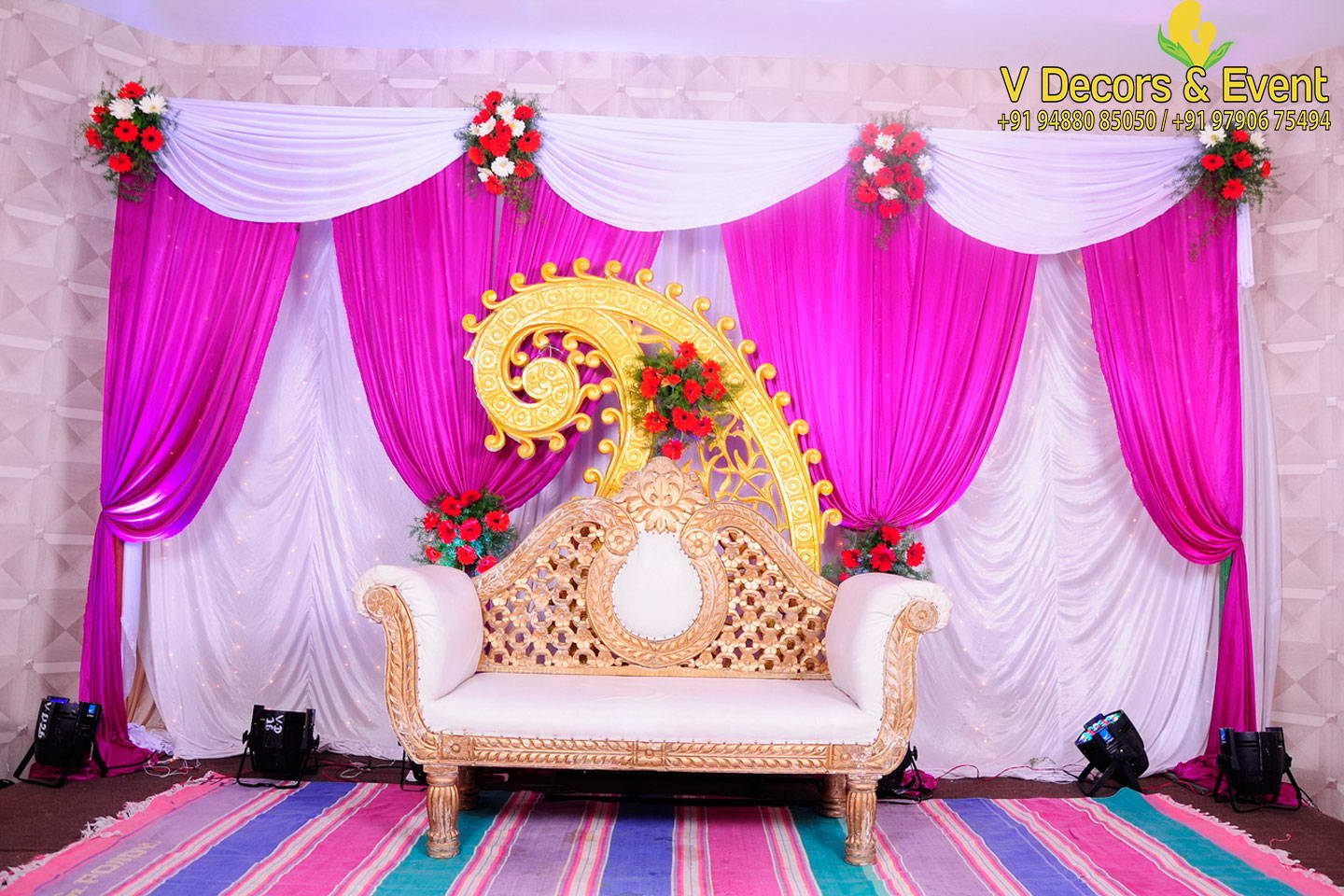 V Decors and Events - Wedding Decorations Pondicherry,Event ...